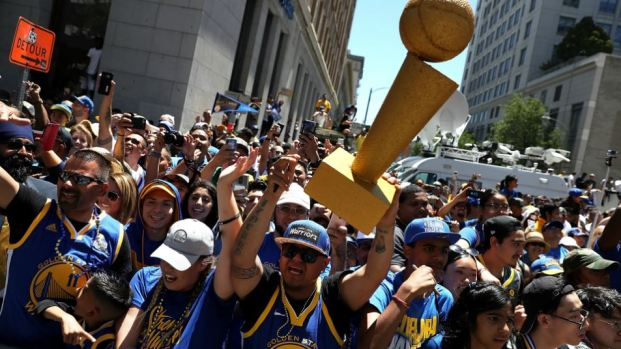 2018 Warriors Parade Highlights