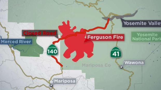 [BAY] Yosemite National Park Temporary Closing Due to Wildfire
