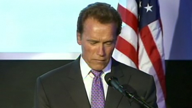 [LA] Arnold Schwarzenegger Makes His First Public Statements About the Separation