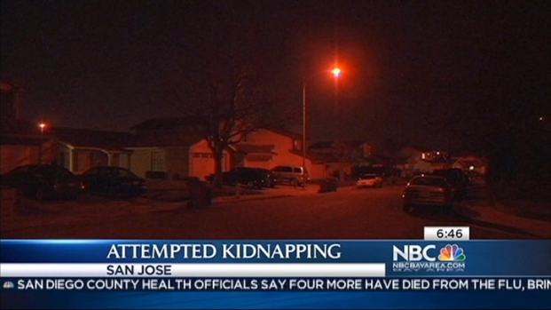 [BAY] Stranger Tries to Kidnap SJ Toddler in Front of Mom: Cops