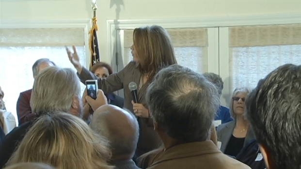 [BAY] Raw Video: Michelle Bachmann in San Rafael
