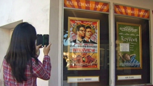 "[BAY] Bay Area Movie Theaters to Show ""The Interview"""