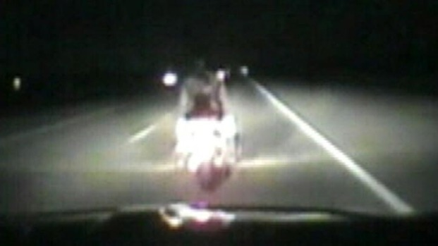 [NATL] Caught on Camera: Trooper Hits Bikers