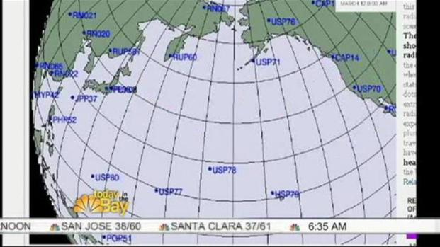 [BAY] Radiation Plume Headed To California From Japan