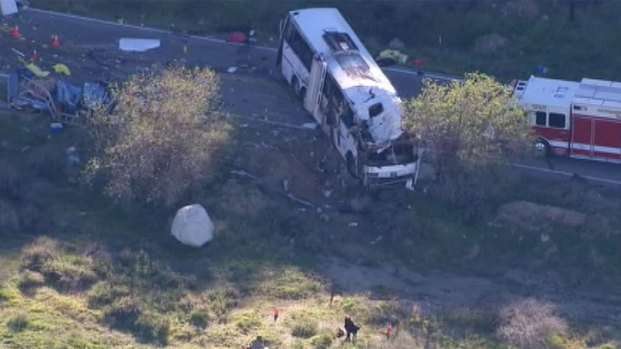 [LA] Tour Bus Crash Prompts Investigation into Company's Safety History