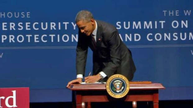 [BAY] President Obama Signs Executive Order Encouraging Cyberthreat Information Sharing at Stanford Cyber Summit