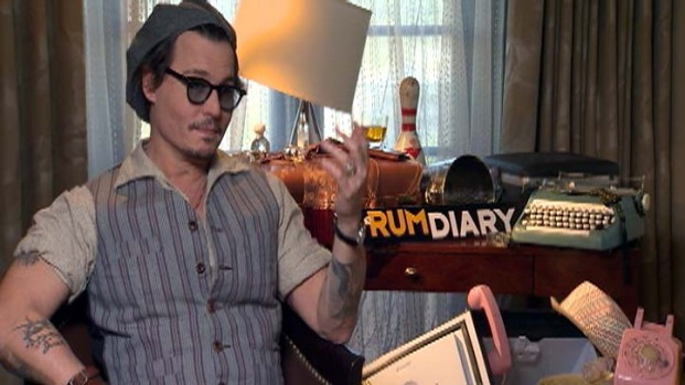 """[LA] """"The Rum Diary"""" Opens This Weekend"""