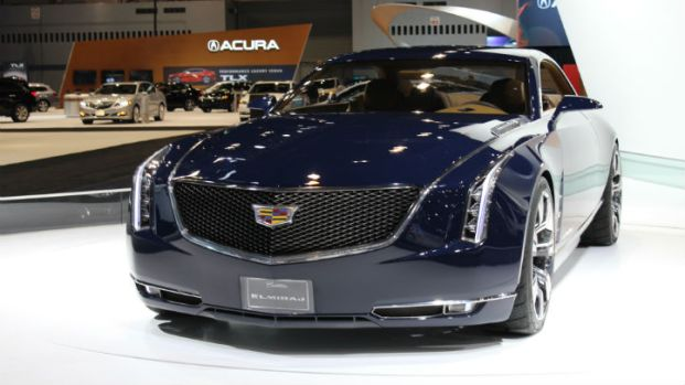 Luxury Vehicles at the Auto Show 2014