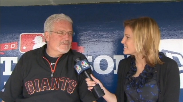 [BAY] Raw Video: Cain, Bochy, Sabean
