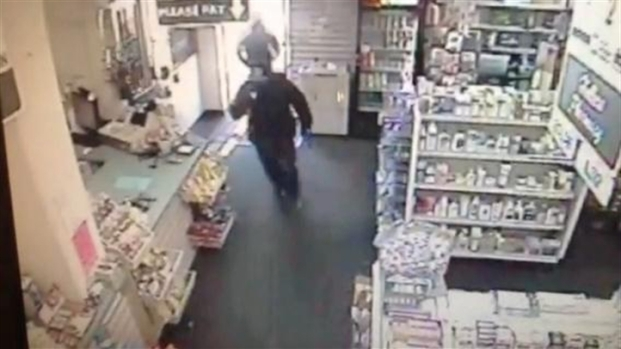 [BAY] Raw Video: Armed Suspects Rob Haller's Pharmacy in Fremont