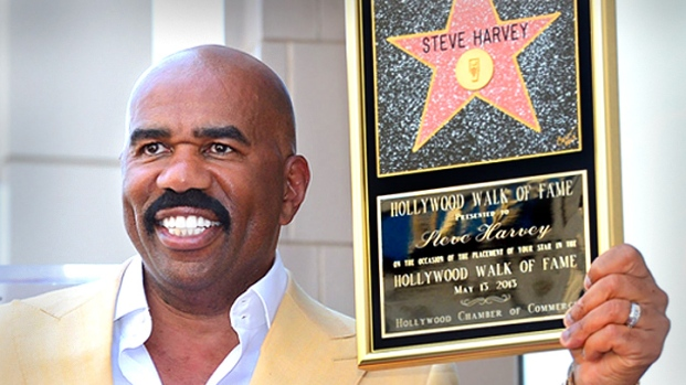 [NBCAH] Steve Harvey Joins Hollywood Walk of Fame