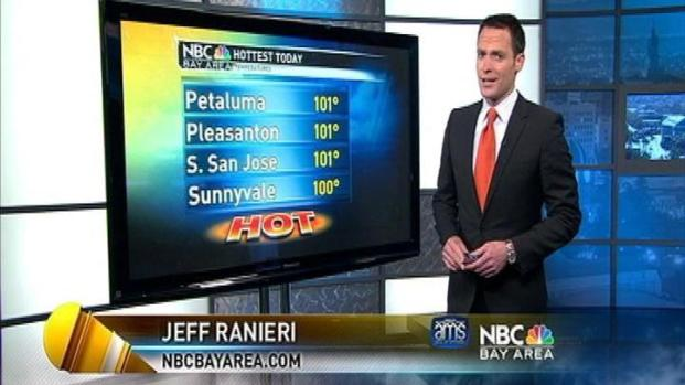 [BAY] Hottest In 9 Months.  Jeff Ranieri Has The Extreme Weather Latest.