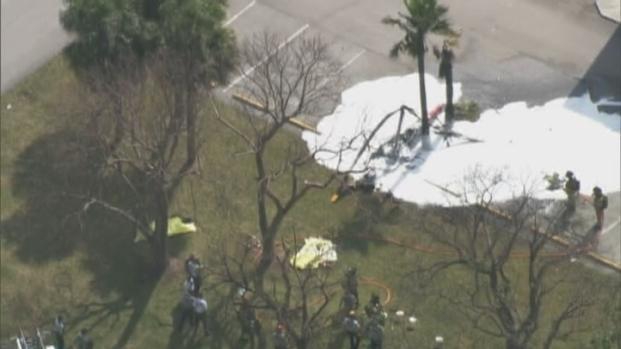 [MI] 2 People Killed in Helicopter Crash in West Kendall
