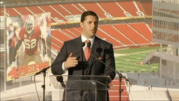 [BAY] Jed York Speaks at the Groundbreaking (1 of 2)
