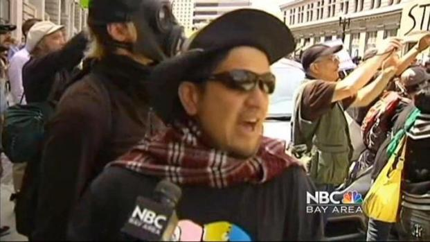 [BAY] Protesters Clash With Police in Downtown Oakland