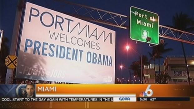 [MI] President Obama Visits Miami on Friday