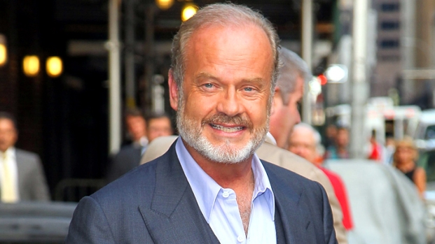 Kelsey Grammer's Discounted Mansion Has Lily Pond, Stone Temple, and More