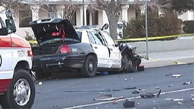 [LA] Family in Shock After 2 Killed in Patrol Car Crash