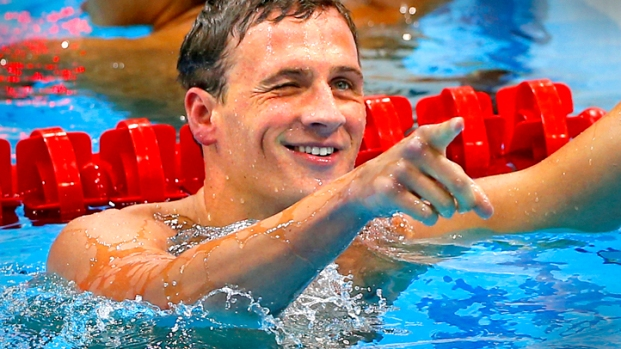 [NATL] 5 Questions for Olympic Swimming Champion Ryan Lochte