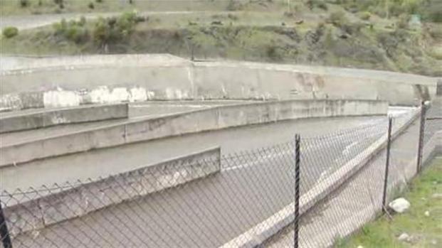 [BAY] Raw Video: Lexington Reservoir Spill