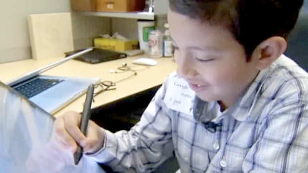 [BAY] Watch: Young Doodler Tours Google