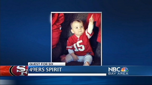 [BAY] Life Long 49er Fan Makenna Rose