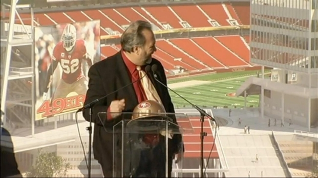 [BAY] Mayor Jamie Matthews At 49ers Groundbreaking