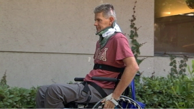 [BAY] Freak Fall Puts Menlo Park Fire Chief in Wheelchair