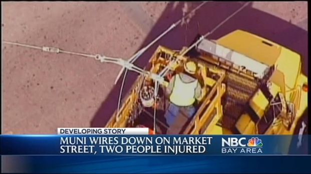 [BAY] Muni Wires Down Due to Car Accident