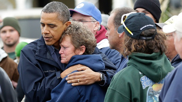 [PHI] Obama Tours Sandy-Ravaged NJ
