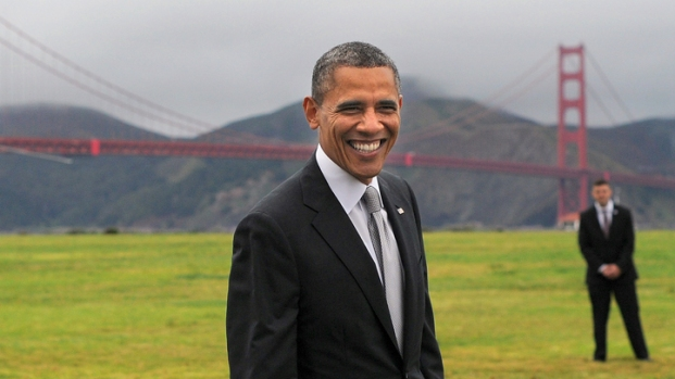 [BAY] Obama Visits Silicon Valley to Fundraise, Tout Healthcare