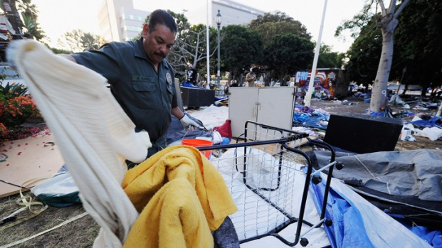 After Occupy LA: Items Left Behind at City Hall
