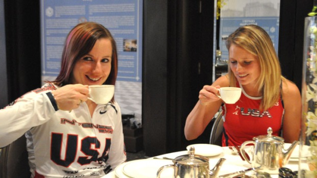 Tea Time for U.S. Olympic Hopefuls