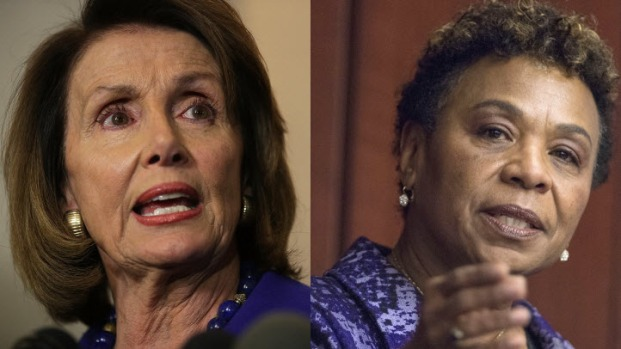 [BAY ML 11A SURATOS] Nancy Pelosi, Barbara Lee Speak Out Against Proposed GOP Tax Plan in San Francisco