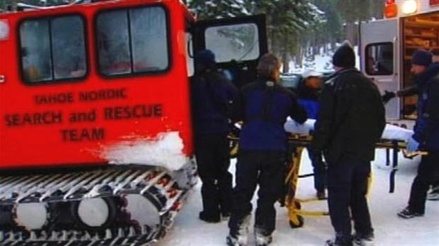 [BAY] Raw Video: Avalanche Victim Rescued