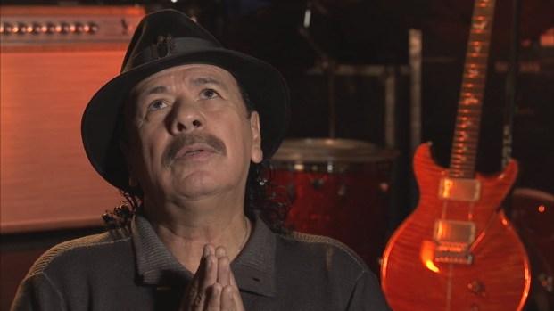 Carlos Santana's 'Ave Maria' Moment