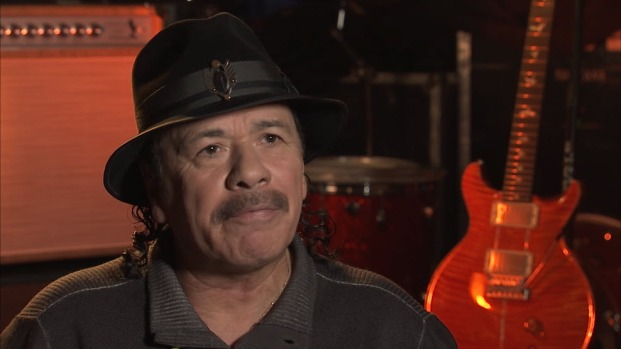 """Something about San Francisco,"" Says Santana"