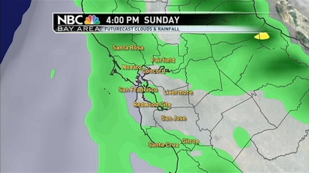 [BAY]Forecast: Showers, Sun & More Rain Sunday