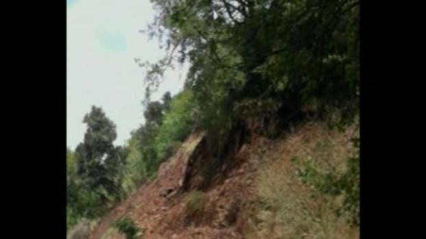 [BAY] Raw Video: Dramatic Rock Slide Caught On Video