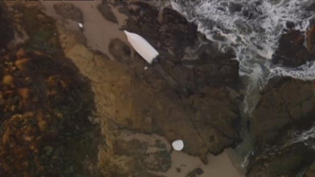 [BAY] Family Finds Fishermen's Jackets On Pigeon Point Shore