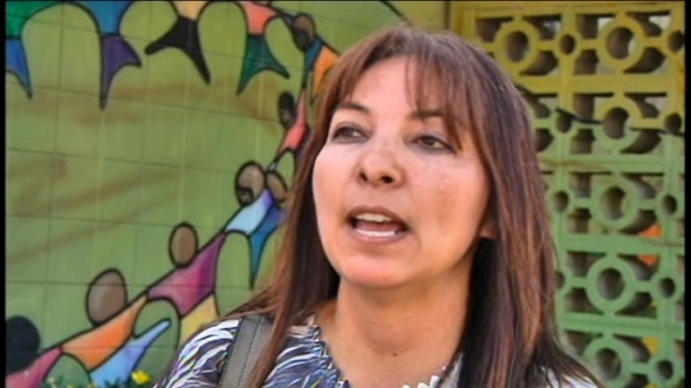 [BAY] Raw Video: Sierra LaMar's Mom Talks About Car Clue