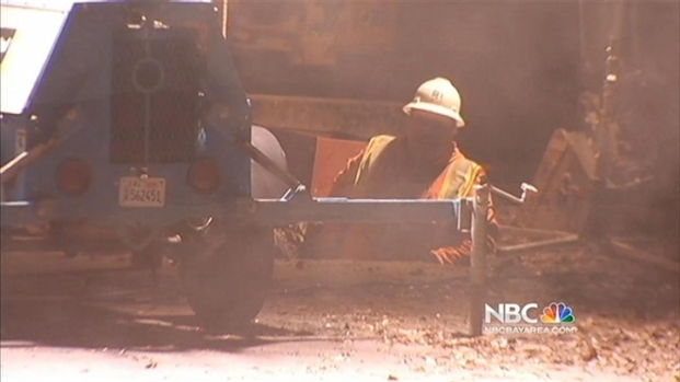 [BAY] Lafayette Street Collapses in Sinkhole