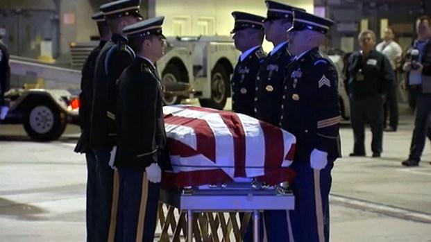 [LA] Korean War Soldier's Remains Arrive at LAX