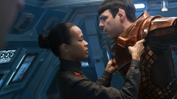 "[NEWSC] Zoe Saldana Shares Behind the Scenes Secrets from ""Star Trek"""