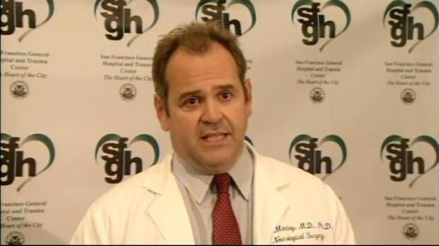 [BAY] Raw Video: Bryan Stow's Doctor Releases Him to Rehab