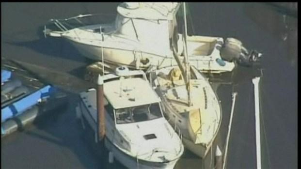 [BAY] Raw Video: Tsunami Hits Santa Cruz