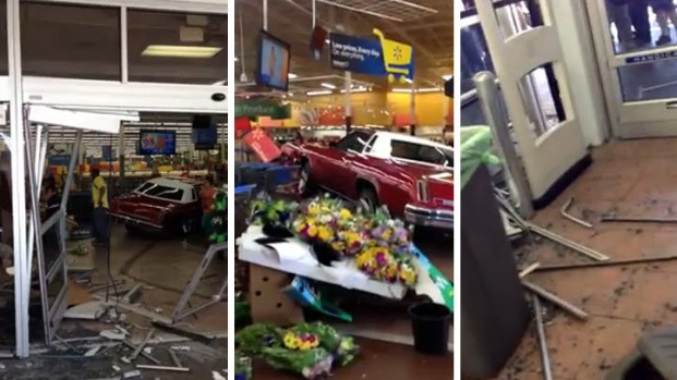 [BAY] Man Who Crashed Car into San Jose Walmart Identified