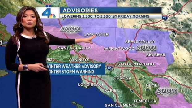 [LA] Weather Forecast: Friday, February 8, 2013