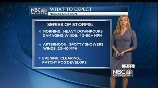 [BAY] Powerful Storm Slams Bay Area Early Sunday