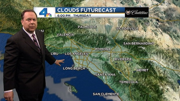 [LA] AM Forecast: Hazy Afternoon Sunshine